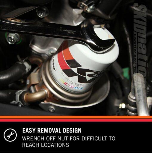 Mazda MX-5 KN HP 1002 oil filter removal