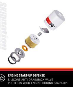 Mazda MX-5 KN HP 1002 oil filter startup