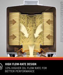 Mazda MX-5 KN HP 1002 oil filter flow