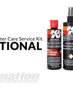 KN filter care service kit optional