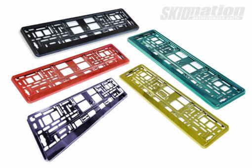Licence plate frames SkidNation