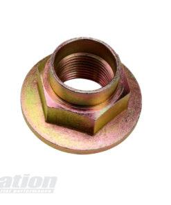 Mazda MX-5 brake ducts hub nut