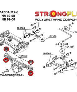 Mazda MX-5 Miata NA NB diff bushing