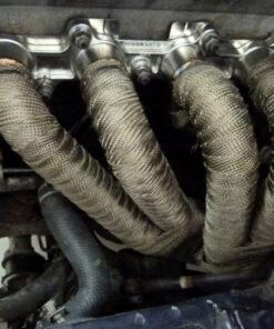 Mazda MX-5 fibreglass heat wrap exhaust header tape 3