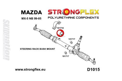 Mazda MX-5 miata steering rack bushing 1
