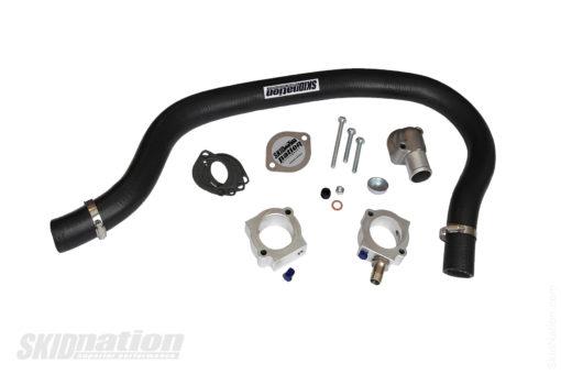Mazda MX-5 complete coolant reroute solution