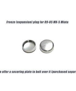 Mazda MX-5 core freeze plug
