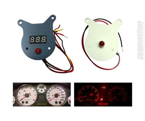 Mazda MX-5 oil pressure warning light and voltmeter