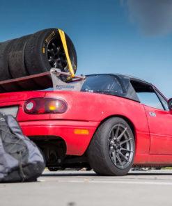 Mazda MX-5 wheel rack