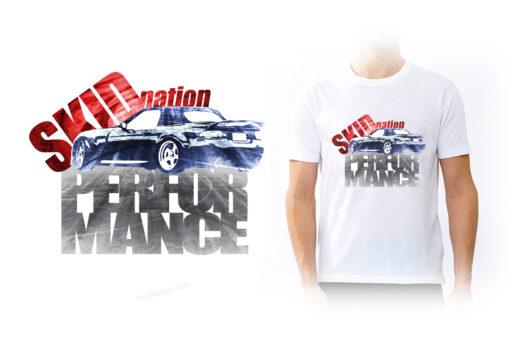 Mazda MX-5 white T-shirt